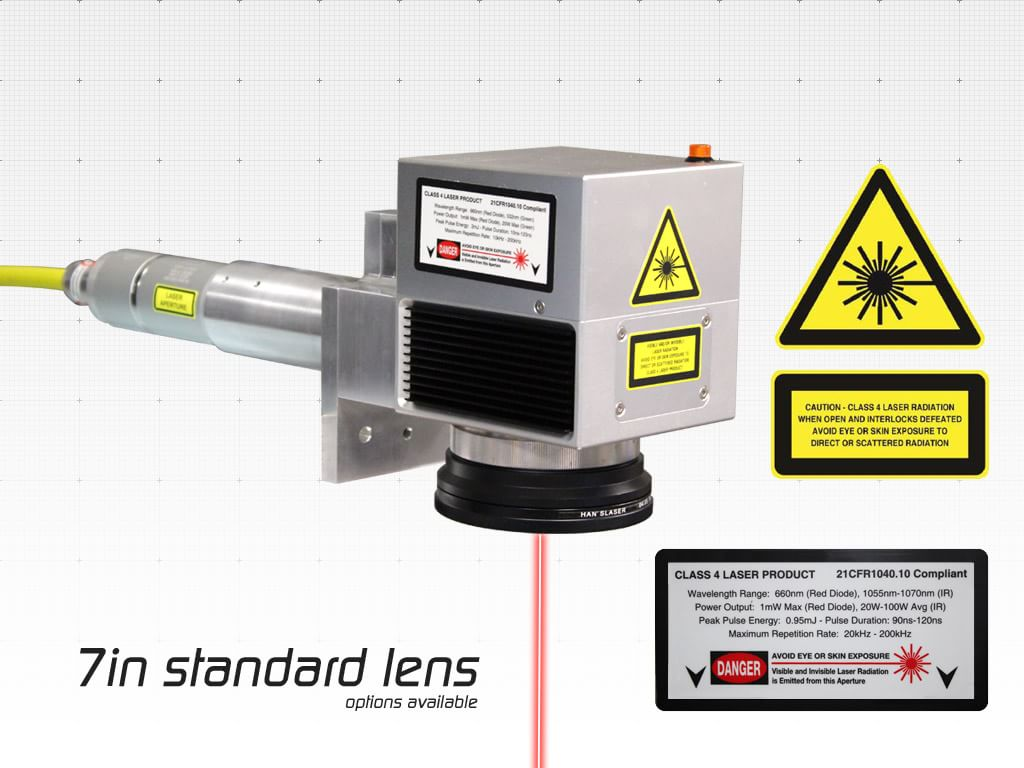 Prowriter Fiber Ir Industrial Laser Marking Systems And