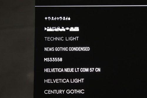 Fiber Laser Marking Backlit Text Panel