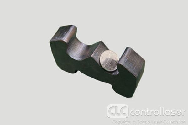 Laser cutting carbon steel sheet metal