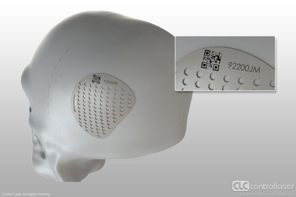 FDA compliant laser marking of medical implants