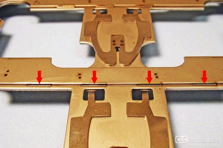 Laser welding of mild steel