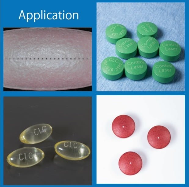 Pharmaceutical Tablet Marking and Drilling