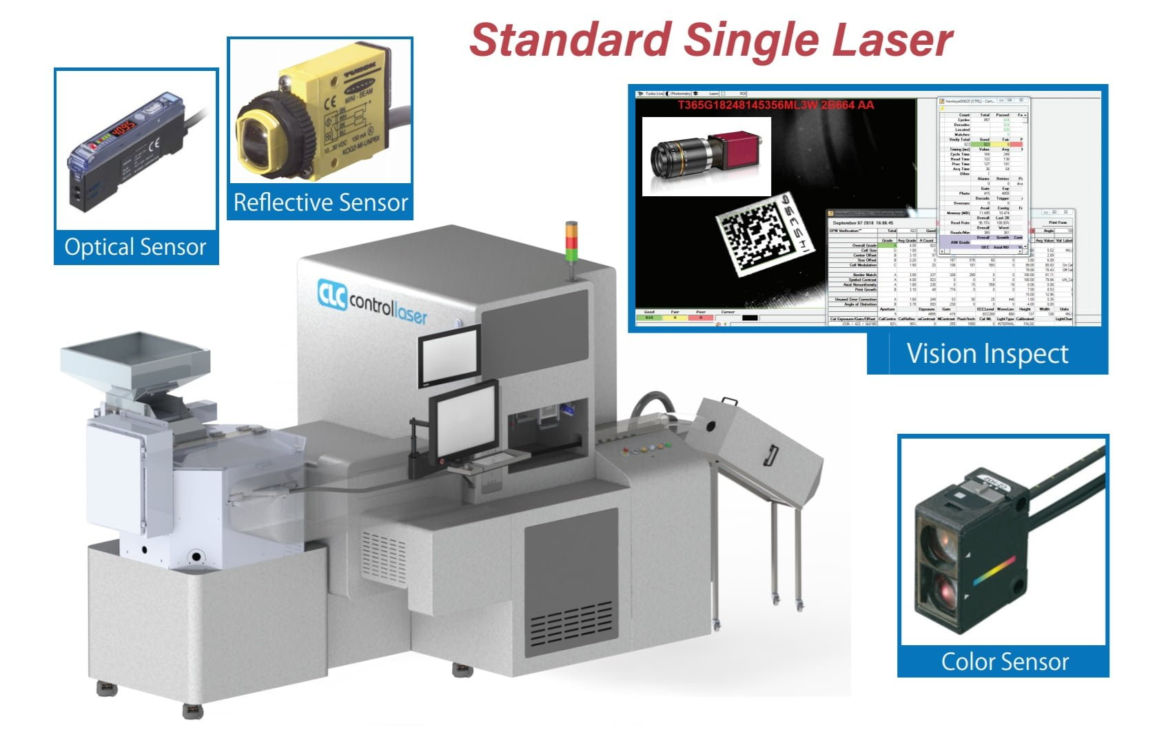 Pharmaceutical Tablet Marking and Drilling System-dual-machine