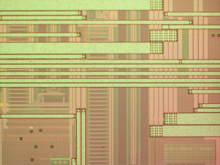 Laser Decap Process, nondestructive Laser Decapsulation on IC Chip